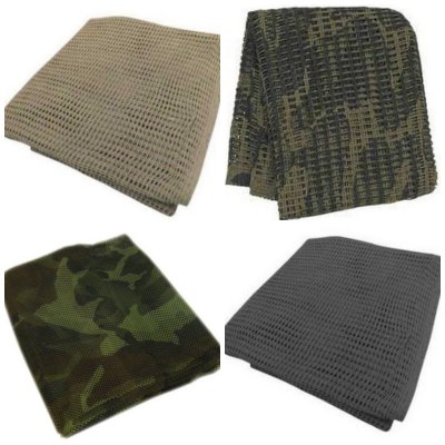 Sniper Paintball Mesh Veil Camo