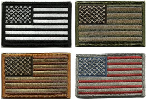 tactical american flag patch