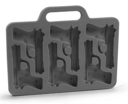 gun ice cube tray