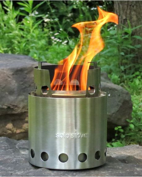 Solo Stove backpacker stove wood burning stove