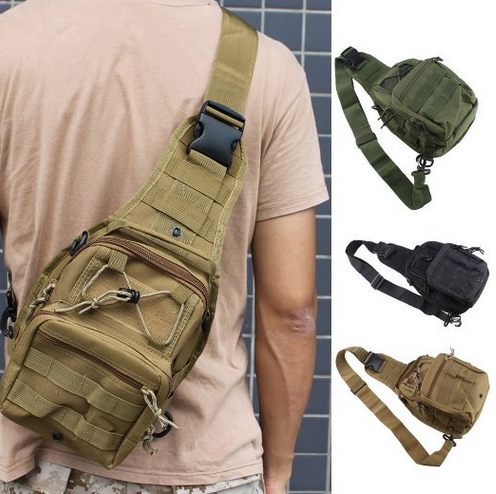 tactical shoulder bag pistol bag bugout bag